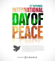 Cartaz do Dia da Paz