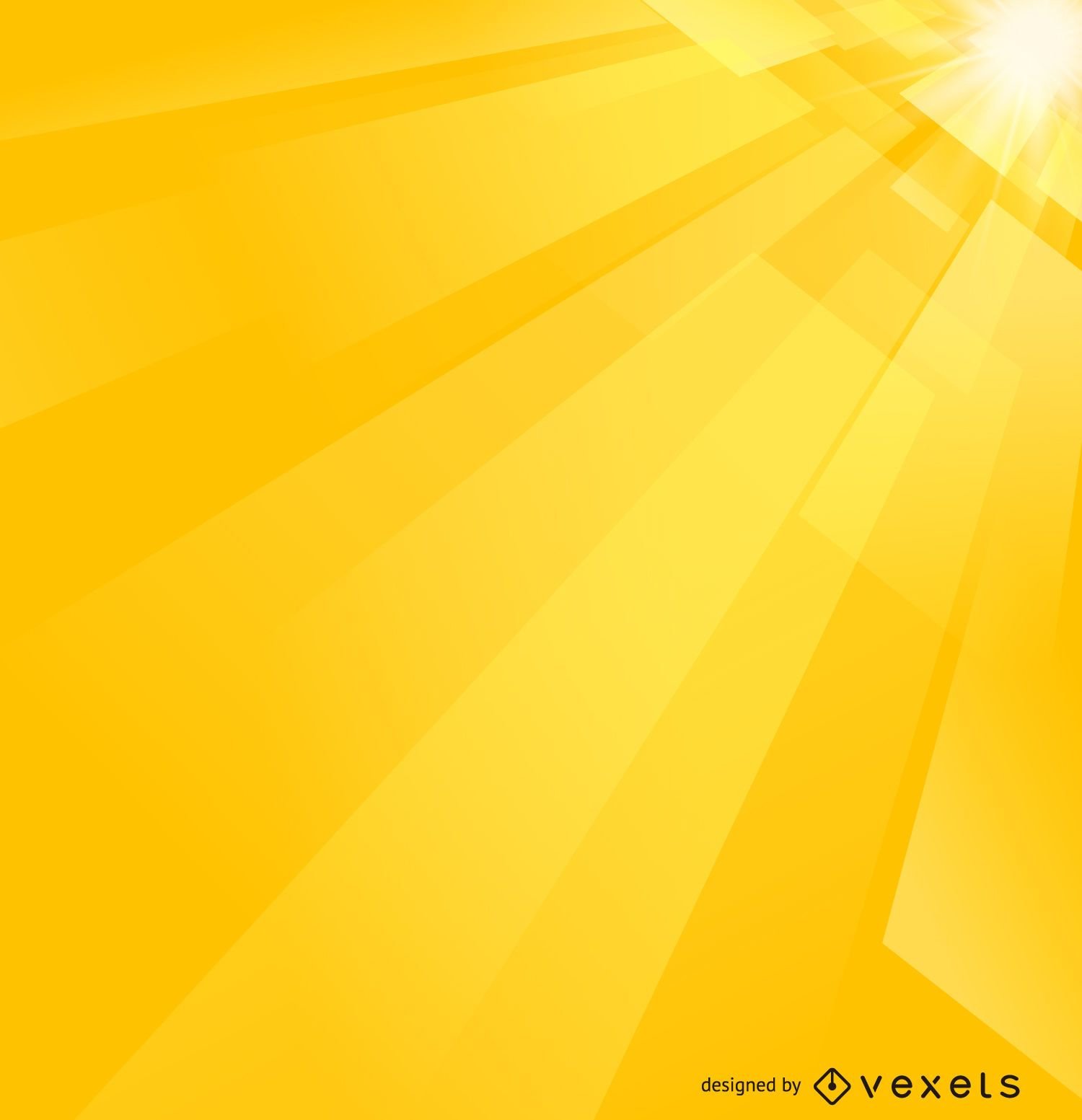 Fundo Futurista Abstrato Amarelo Baixar Vector