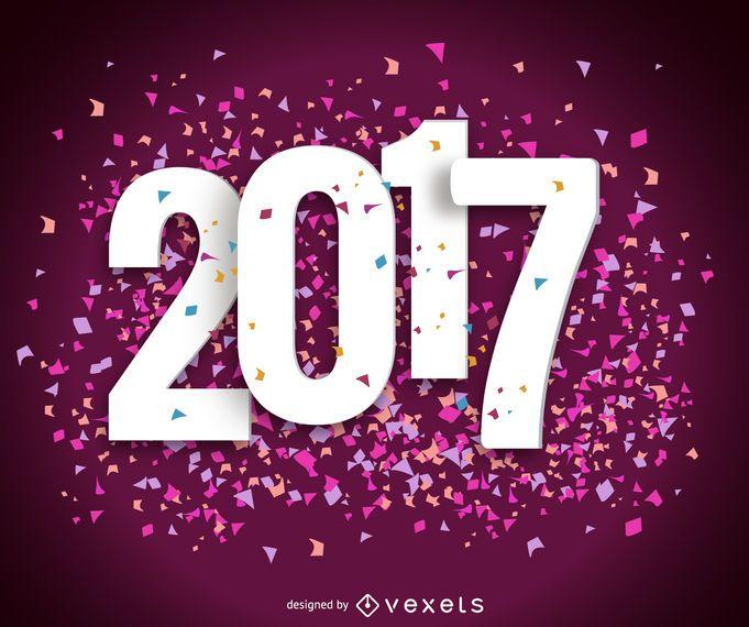 Signo 2017 con confeti