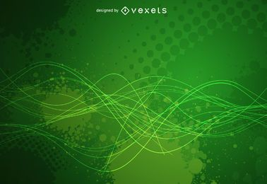 Green grunge background