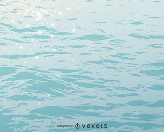 Textura de fundo de água