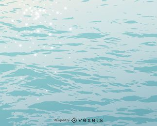 textura do fundo de água