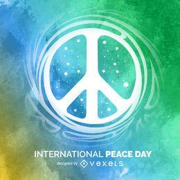 Zeichen des Internationalen Friedenstages