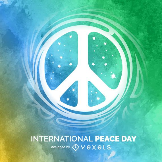 International Peace Day sign