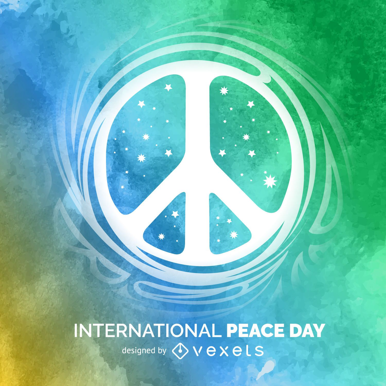 White dove laurel peace symbol vector download international peace day sign biocorpaavc Choice Image