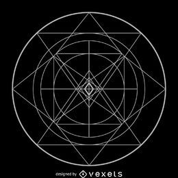 Kreisförmige komplexe heilige Geometrie