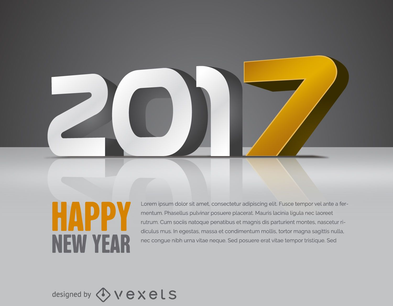 2017 with yellow sign