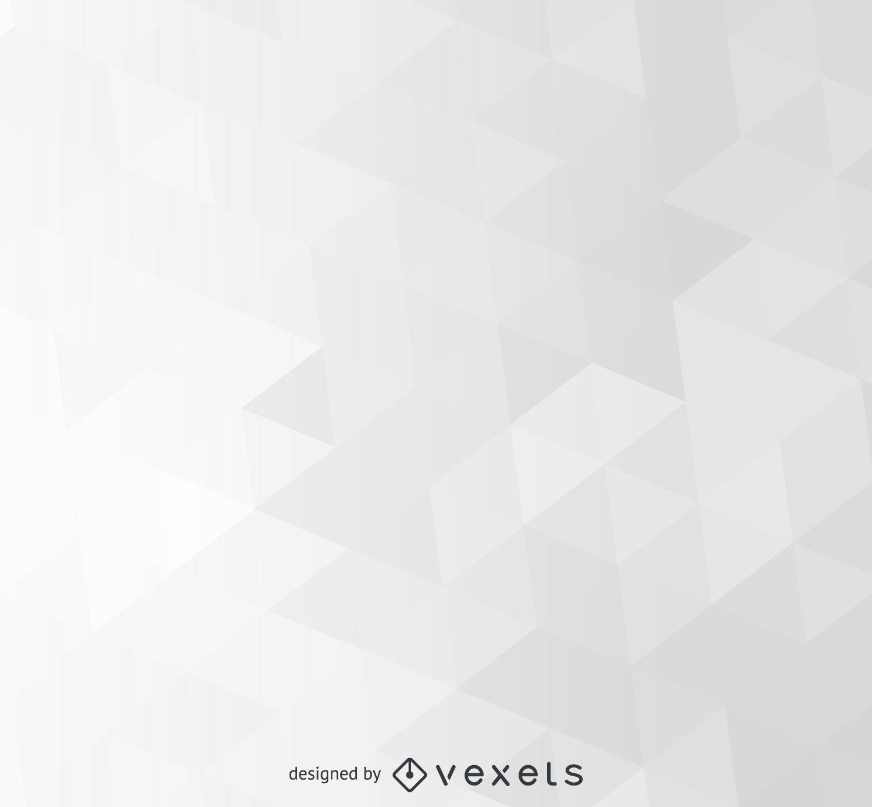 Fondo poligonal gris abstracto