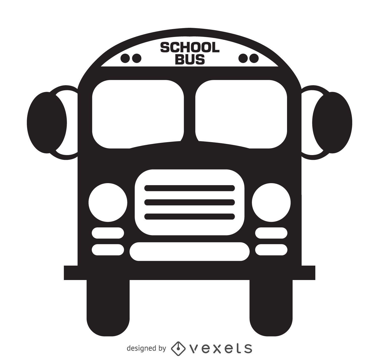 Isolated school bus icon