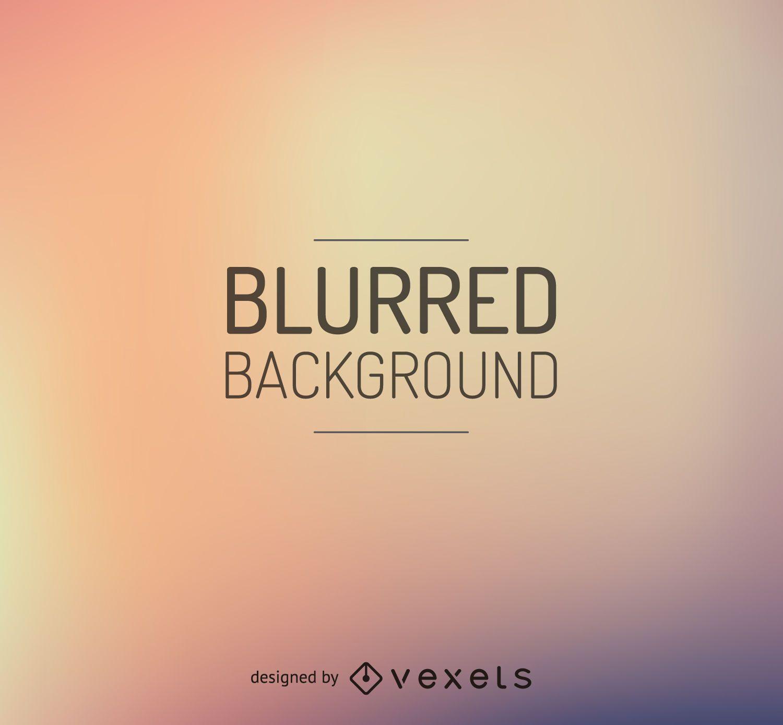 Warm tones blurred background