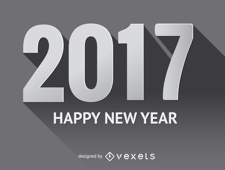 Cartel gris 2017 con sombras