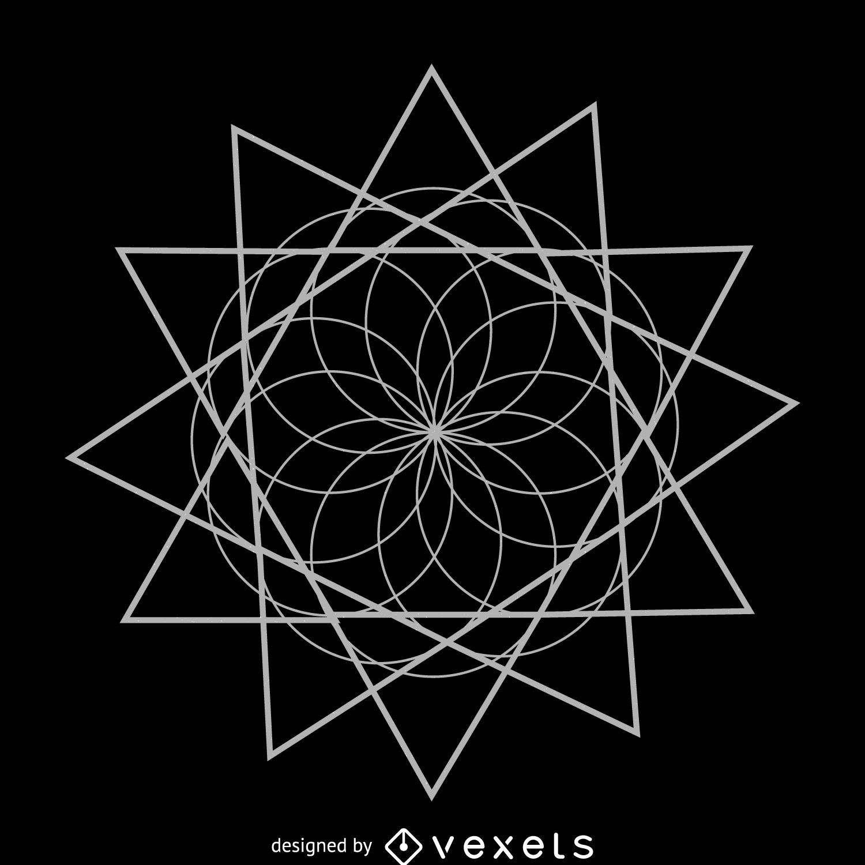 how to create sacred geometry