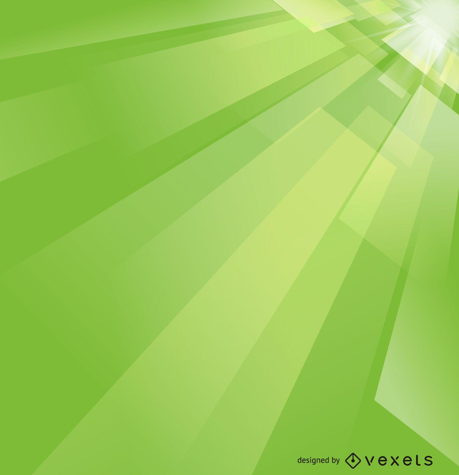 Fondo futurista verde brillante