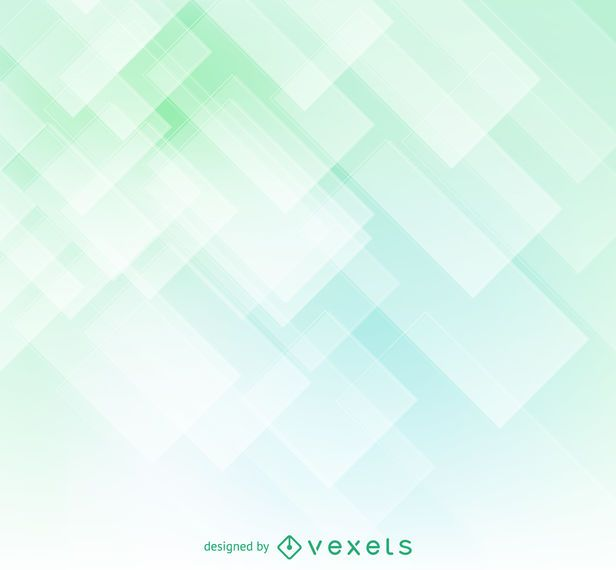 Geometric soft green abstract backdrop