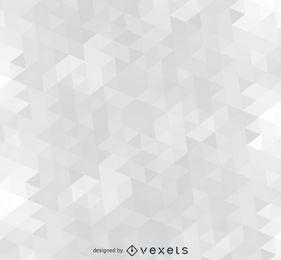 Padrão de fundo cinza poligonal