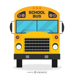 Isolierte Schulbus-Design