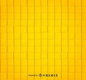 Padrão abstrato quadrado amarelo