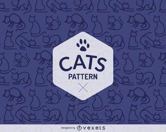 gato sencilla describe el patrón