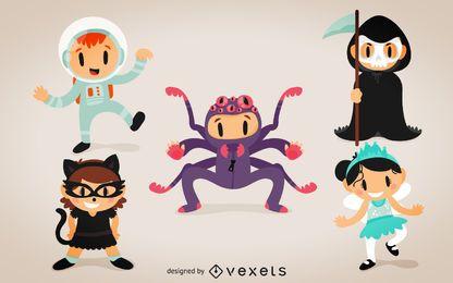 Fantasias de criança de Halloween
