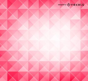 Roter Hintergrund der Polygone 3D