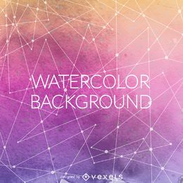 Gradient purple watercolor backdrop