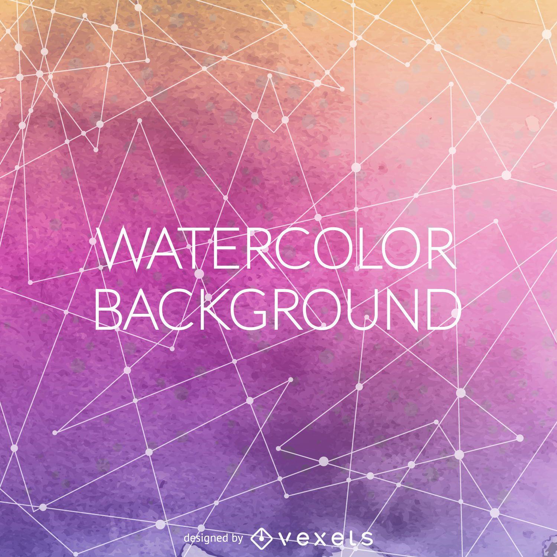 Gradient Purple Watercolor Backdrop
