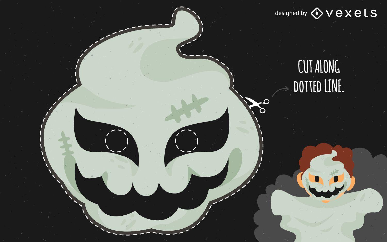 Halloween Ghost Mask Costume