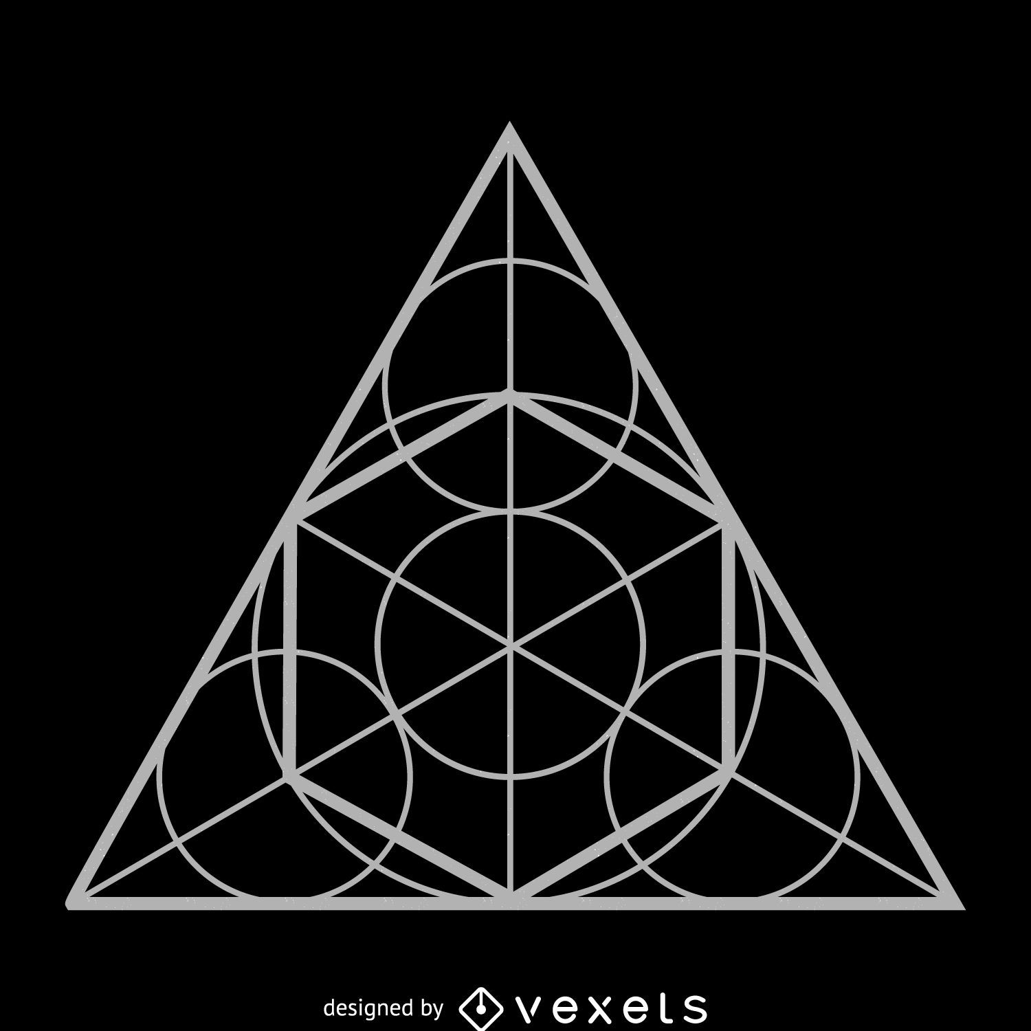 triangle vector graphics to download