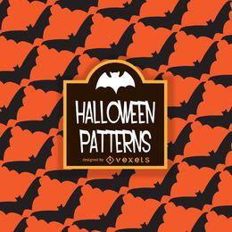 padrão de morcego Dia das Bruxas