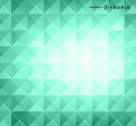 Green 3D polygons background