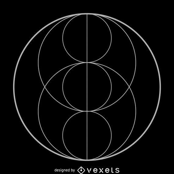 Piscis eye trinity sacred geometry