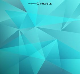 Blauer niedriger Polyhintergrund