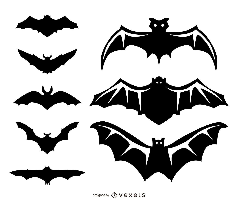8 ilustraciones de murci lago y siluetas descargar vector - Murcielagos para halloween ...