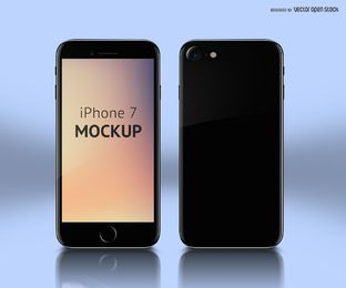 iPhone 7 mockup PSD template