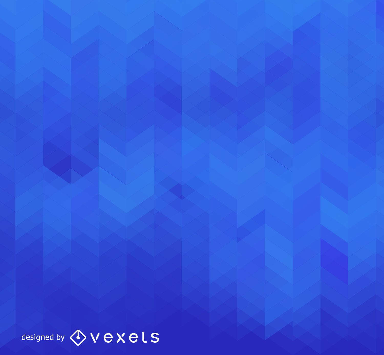 Abstract gradient blue backdrop