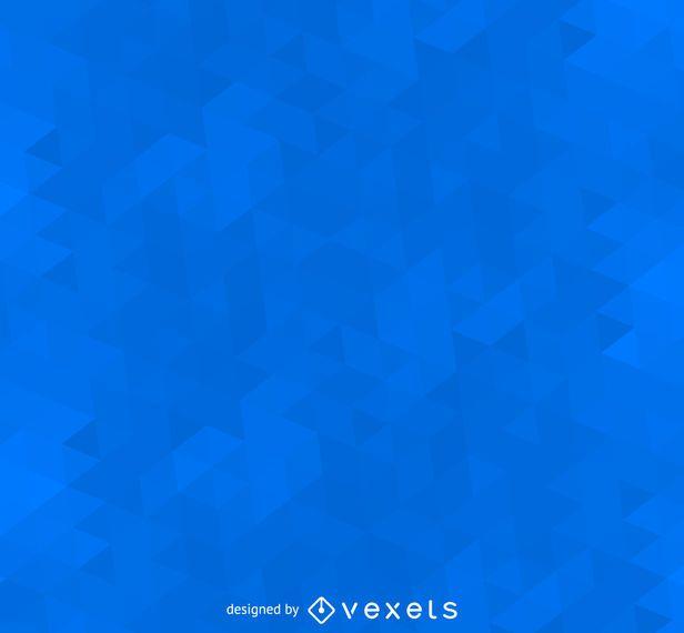 Geometric polygonal blue background