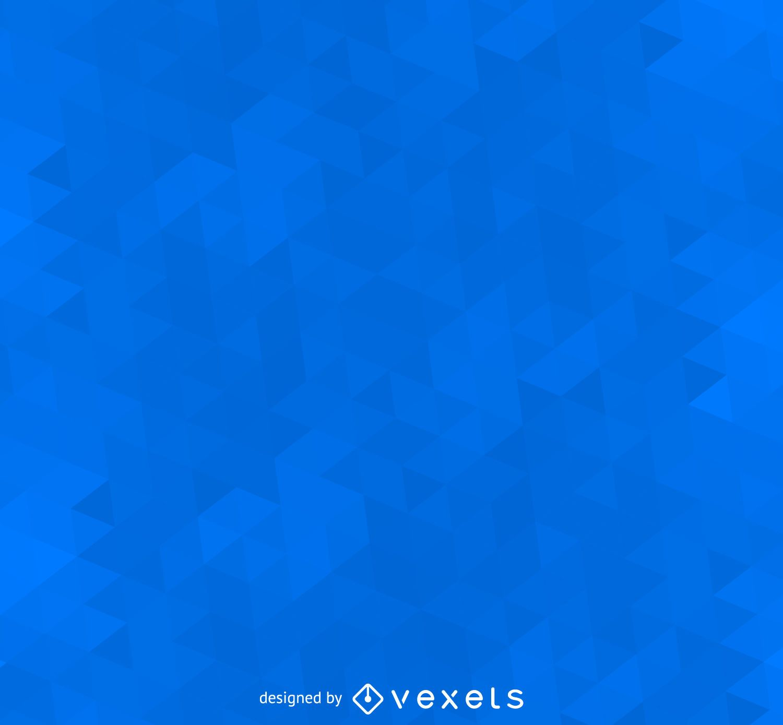 Fondo azul poligonal geométrico