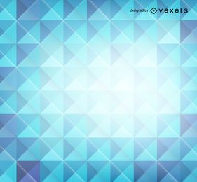 Blue 3D polygons background