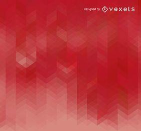 Roter Hintergrund des geometrischen Farbverlaufs
