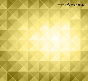 Gelber Hintergrund der Polygone 3D
