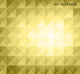 Yellow 3D polygons background