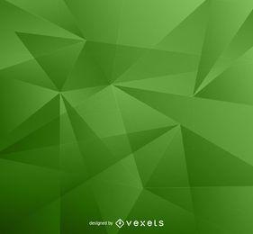 fondo verde bajo poli