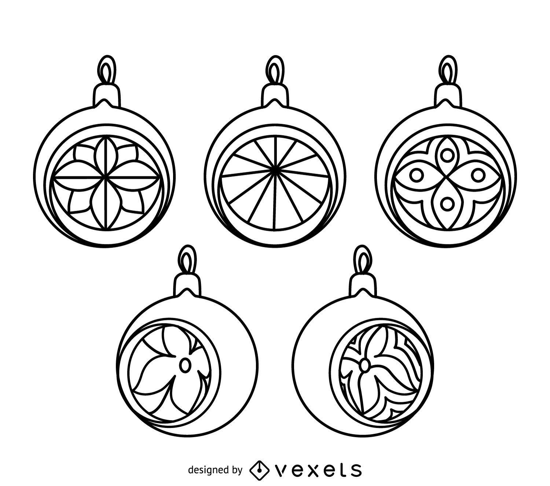 wonderful christmas ornament outlines part 3 christmas ornament