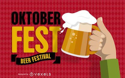 Banner del festival Oktoberfest