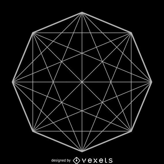Octagon matrix sacred geometry