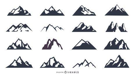Berg-Icon-Set