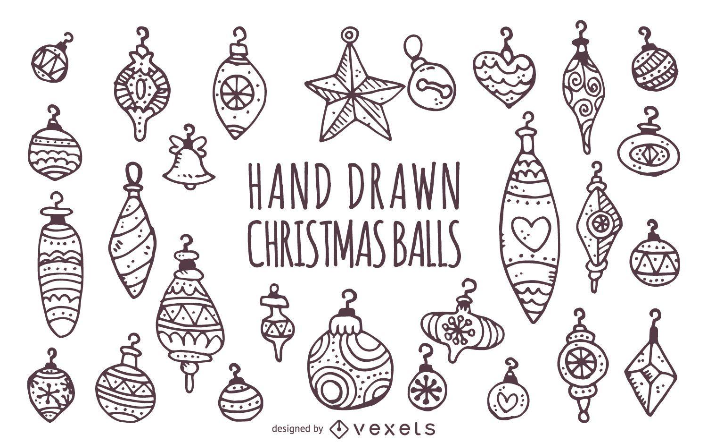 Black And White Christmas Ornaments Christmas Ornament