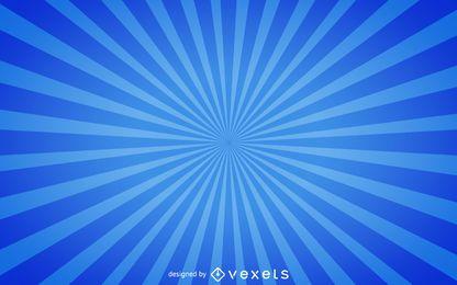 Blauer Starburst-Hintergrund