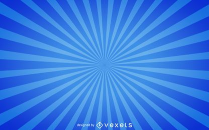 Fundo azul starburst