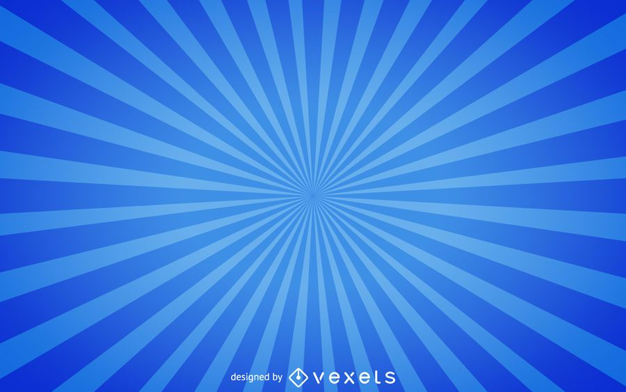 Blue starburst background - Vector download